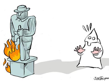 Artigo   'O incêndio não começou e não terminará na estátua do Borba Gato'