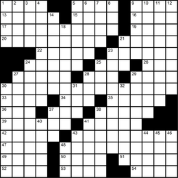 044: Themeless Puzzle 12