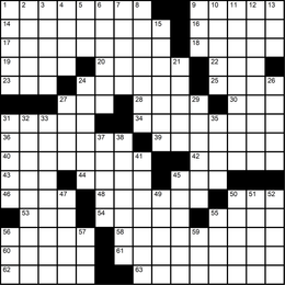 013: Themeless Puzzle 1, Take Flight