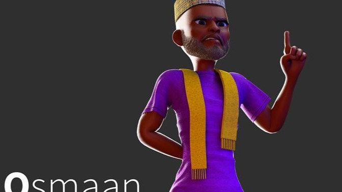 Osmaan Character Rig