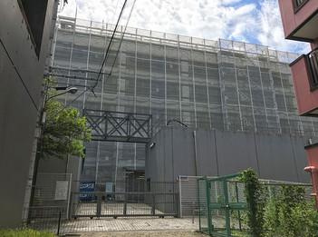 校舎第3期工事 進捗状況