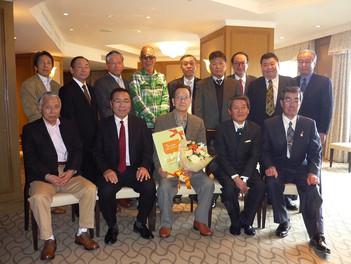 22期P組「小笠原朋憲先生の米寿を祝う会」