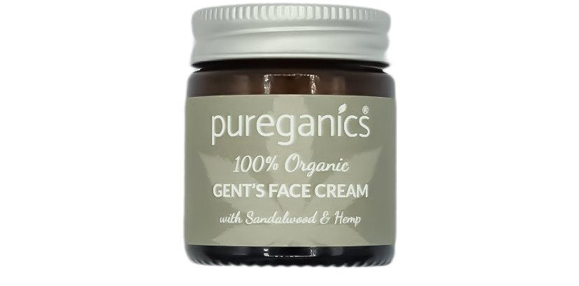 Gents Organic Face Cream with Hemp