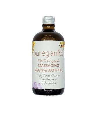 Organic Luxury Bath & Body Oils