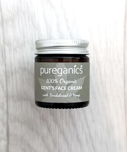 Gents Face Cream With Sandalwood & Hemp