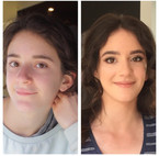 Before and After - Prom hair and make-up