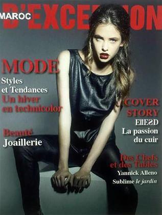 Maroc D'exception Cover