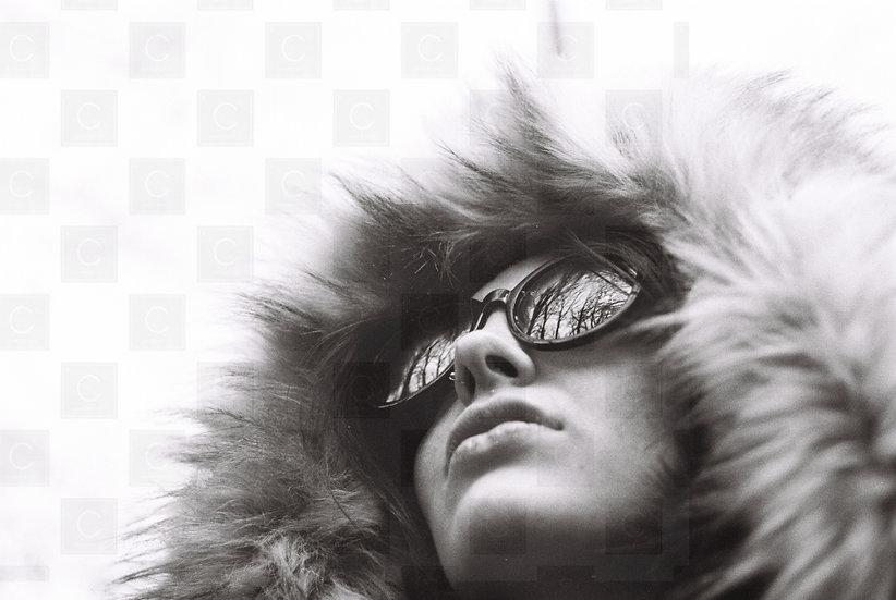Lady Fur Hood