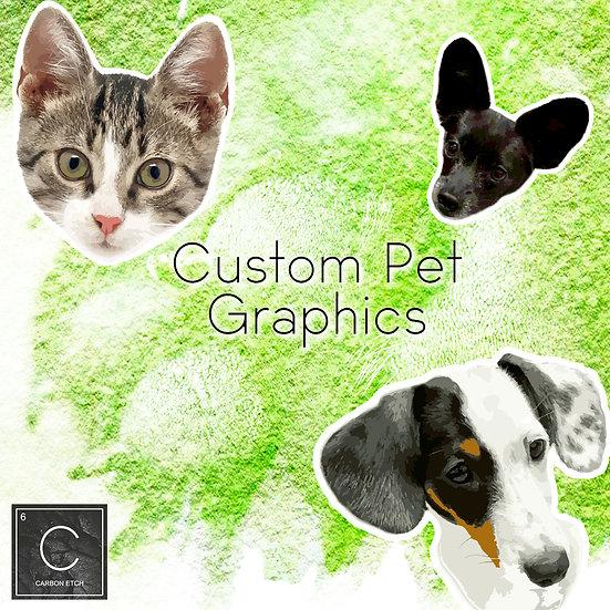 Custom Pet Face Graphic (digital download)
