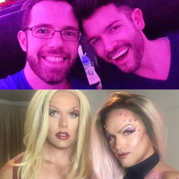 Before and After - Drag Queen hair and make-up