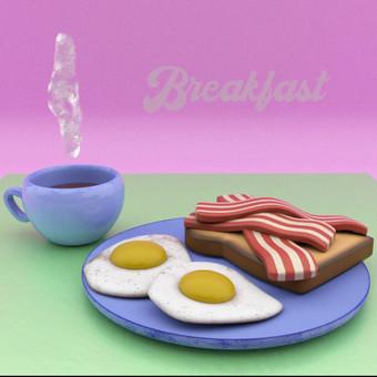 Breakfast animation