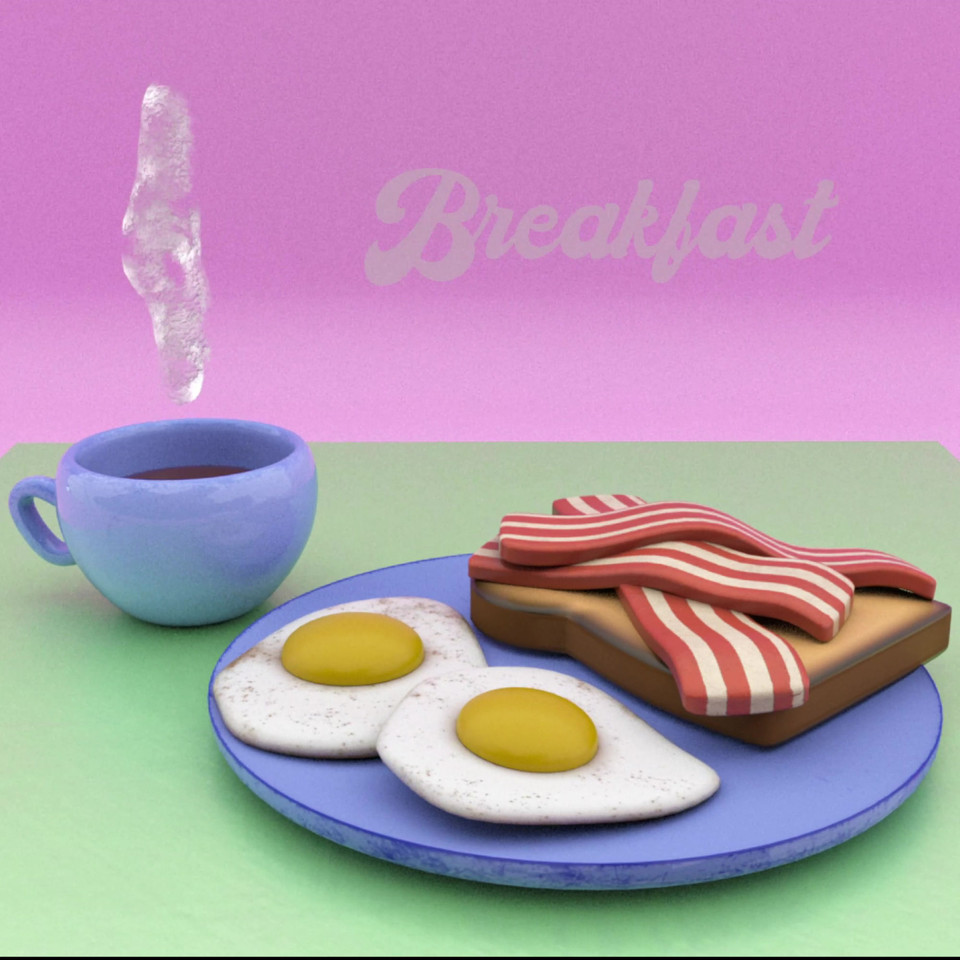 Stylised Breakfast Animation