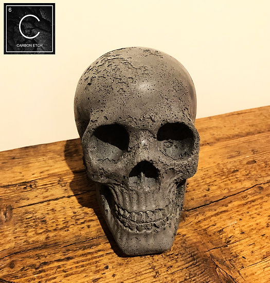 Texture glitter Concrete Skull