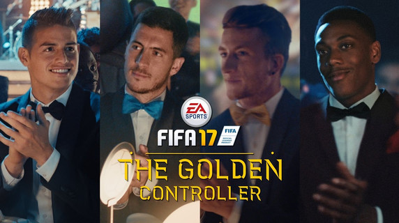 EA Sports - Fifa Golden Contoller commercial