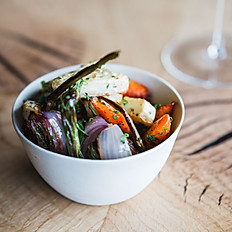 Roast autumn vegetables