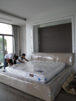 Over size bed