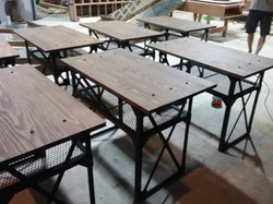 Industrail style desk