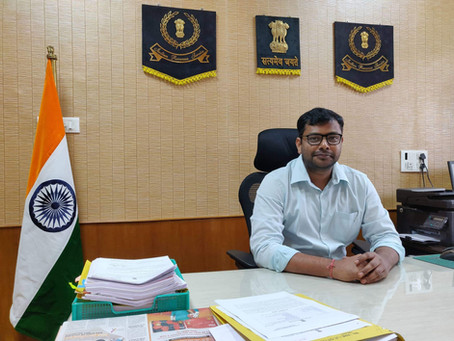 Dr. Ranjan Agrawal, IRS joins Utkal Pragati forum.
