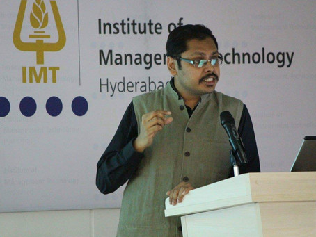 Smarak Swain, IRS joins Utkal Pragati forum to take Odisha in the path of 'Pragati'.