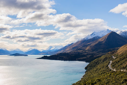 Glenorchy Road lookout.