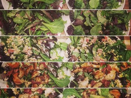 Elote Grilled Chicken Salad Recipe
