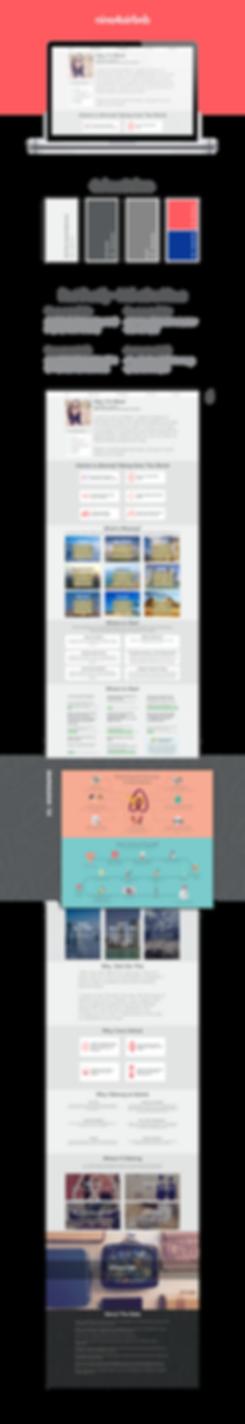Nina 4 airbnb Webpage Design