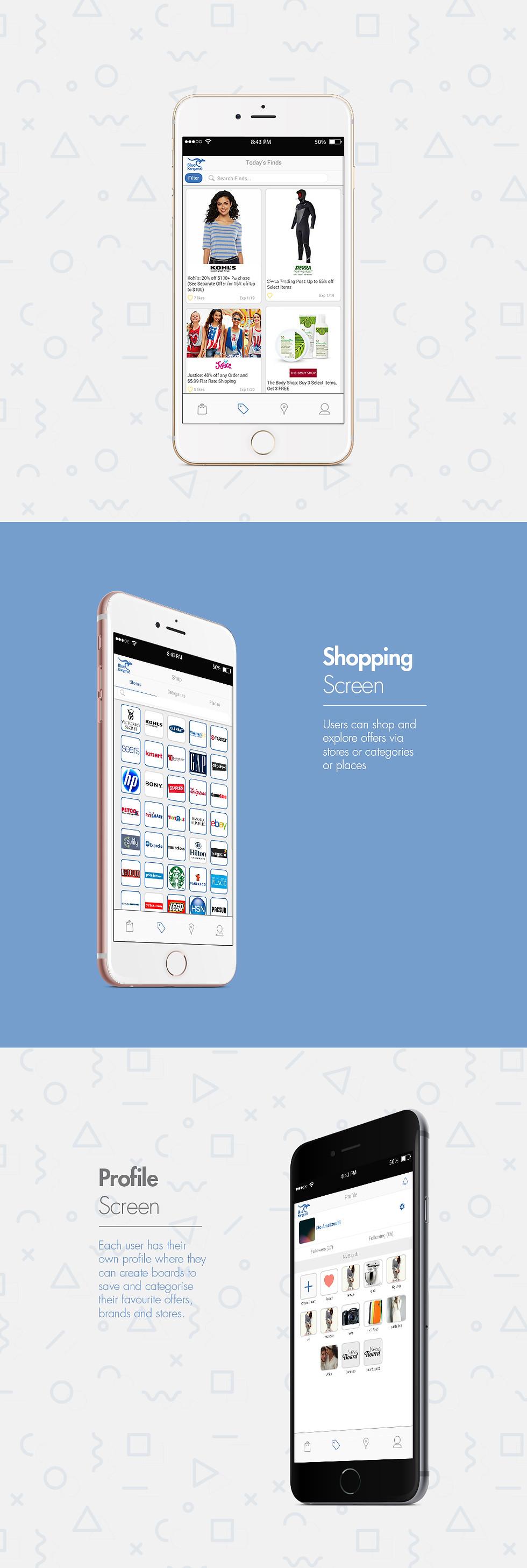 Blue Kangaroo Mobile App