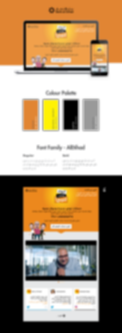 Bank Al Etihad - Thara' Account Webpage Design