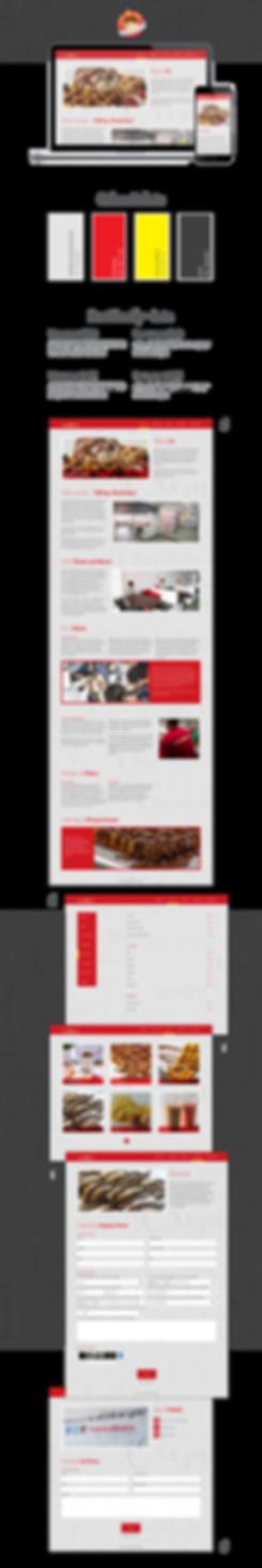 Treats and Beans Website Design