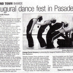 Star News - Inaugural Dance Fest in Pasa
