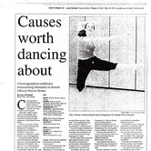 Glendale - Causes worth dancing about.jp