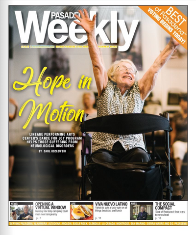 Pasadena Weekly Cover