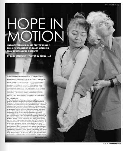 Pasadena Weekly Page 1