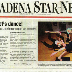 Pasadena Star News - Let's Dance.jpg