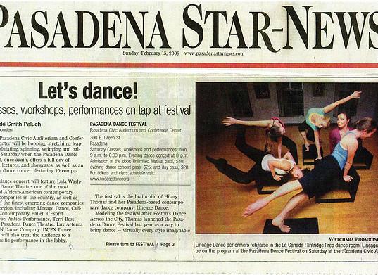 Pasadena Star News - Let's Dance.jpg