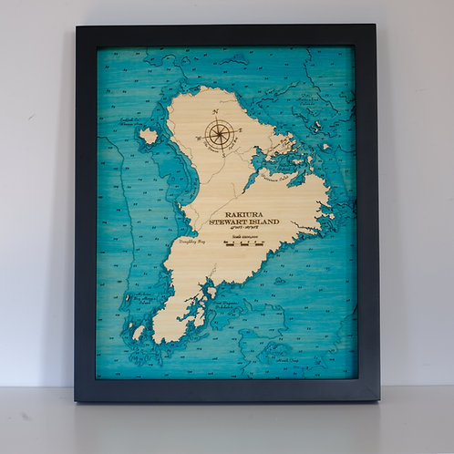 Stewart Island / Rakiura 42 x 52