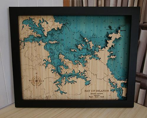 Bay of Islands 79 x 63