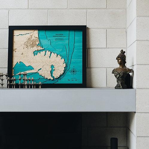 Banks Peninsula 79 x 63
