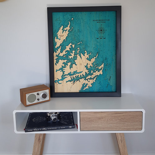 Marlborough Sounds 63 x 79