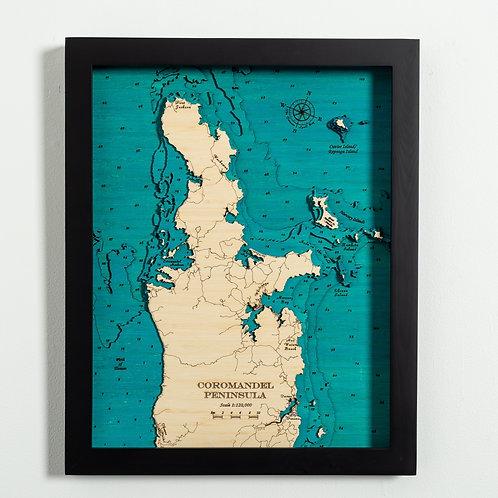 Coromandel Peninsula Med 42 x 52
