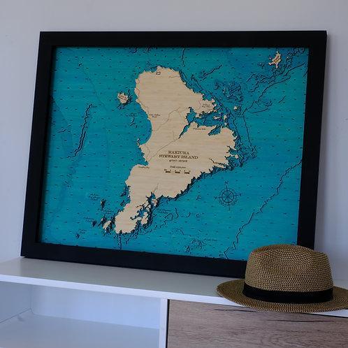 Stewart Island 79 x 63