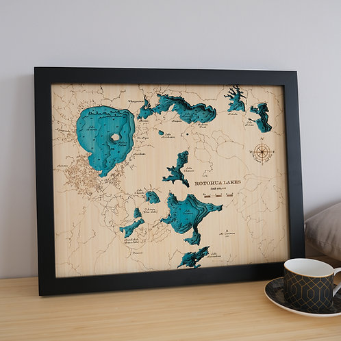 Rotorua Lakes 52 x 42