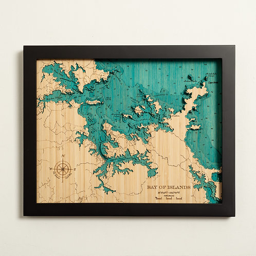 Bay of Islands 52 x 42