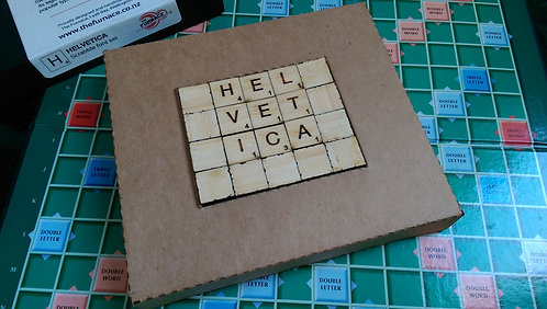 Font sets for Scrabble