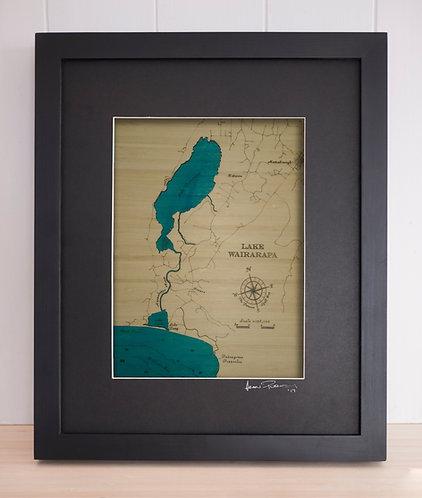 Lake Wairarapa Sml 30 x 38