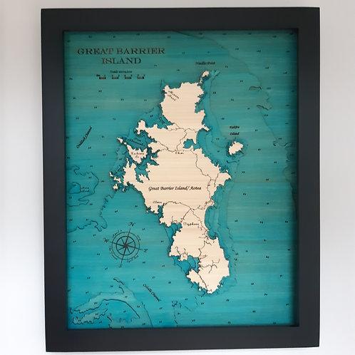 Great Barrier Island 42 x 52
