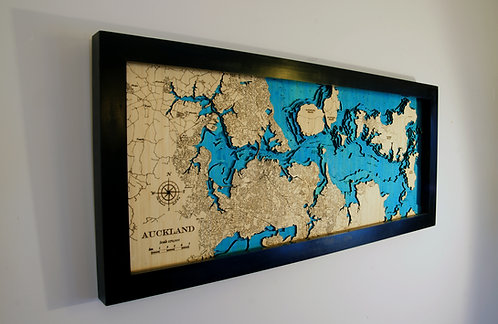 Auckland  Lge Long 100 x 40