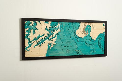 Cook Strait 150 x 60