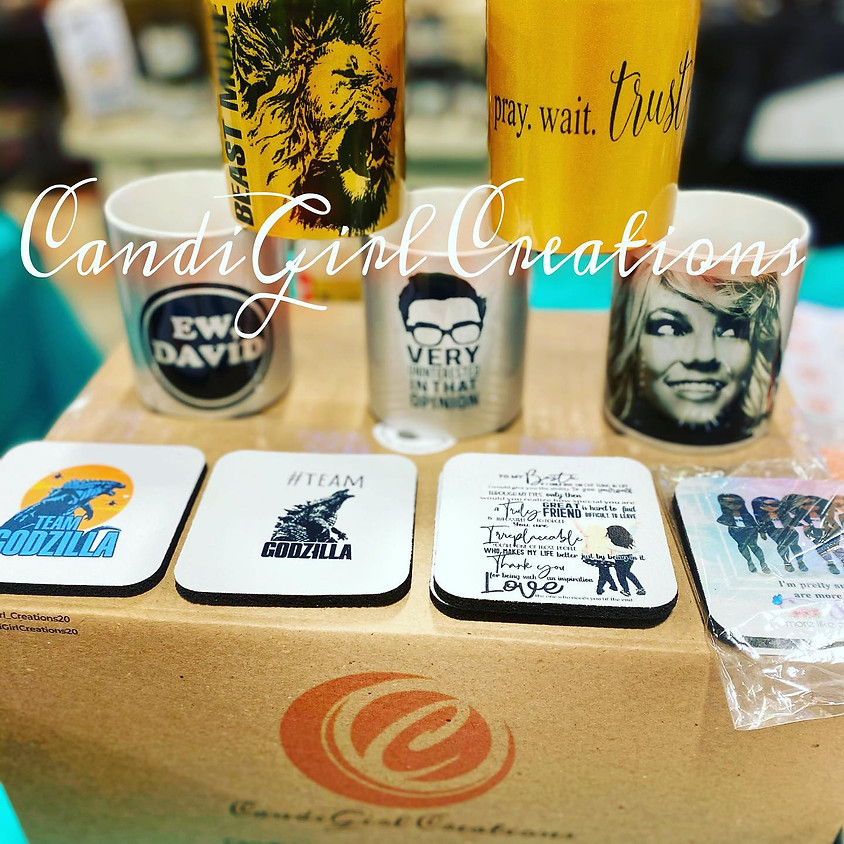 Popup on the Patio: CandiGirl Creations