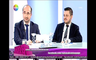 """Zu Gast bei Show TV  """"Eylem Aksin Zamani"""""""